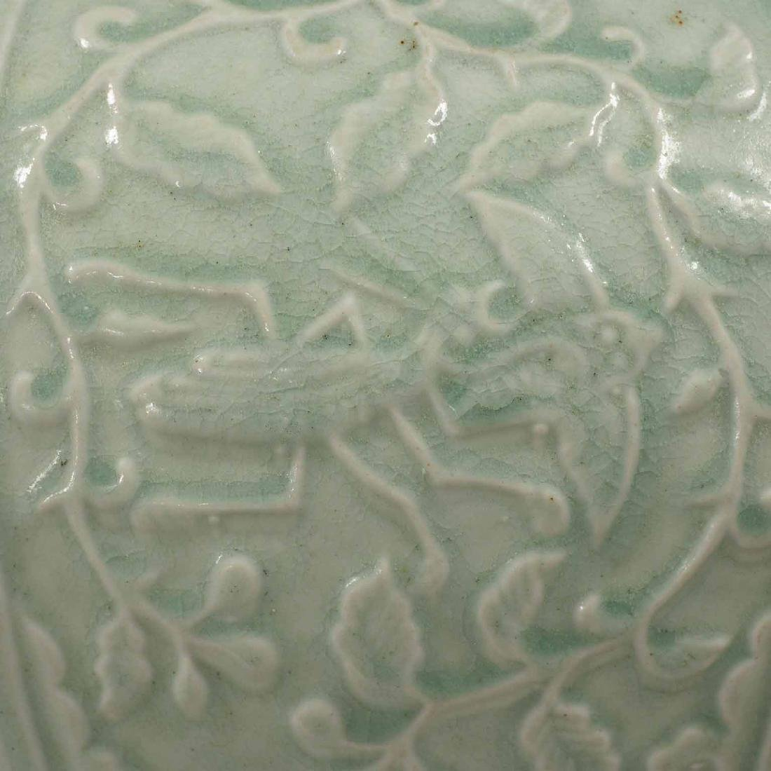 (TL) Octagonal Lidded Jar, late Yuan-early Ming Dynasty - 5