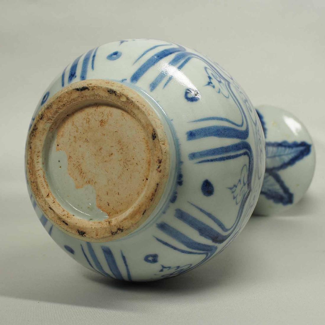 Yuhuchun Vase with Mandarin Ducks, Yuan Dynasty - 8