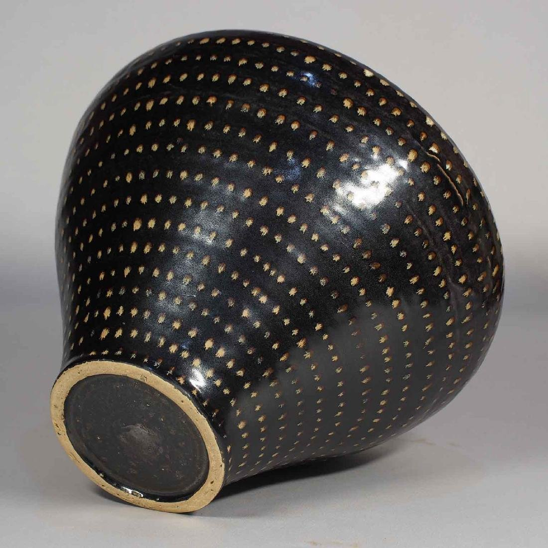 Jizhou Dotted Jar with Lid, Southern Song Dynasty - 9
