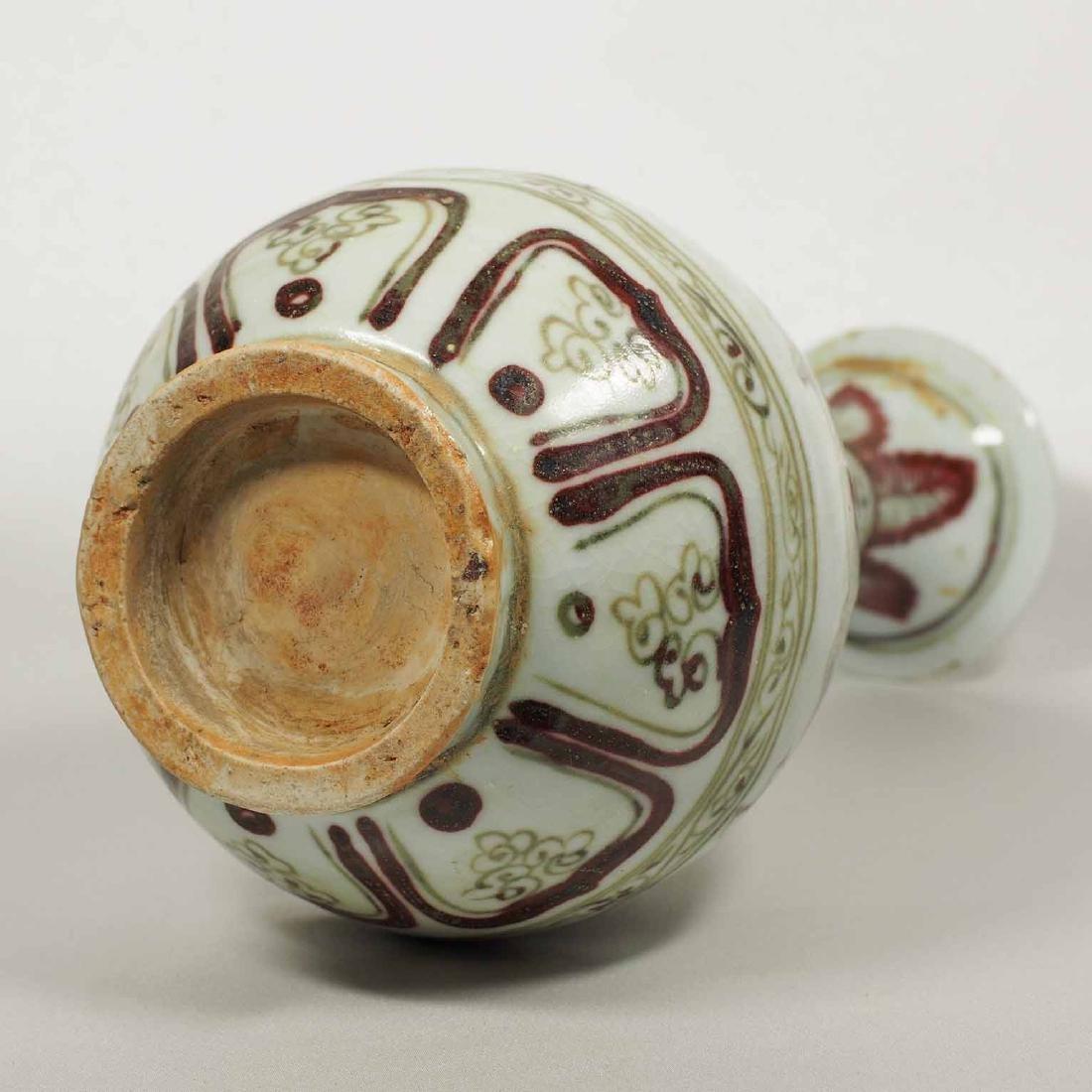 Yuhuchun Vase with Dragon Design, Yuan Dynasty - 8