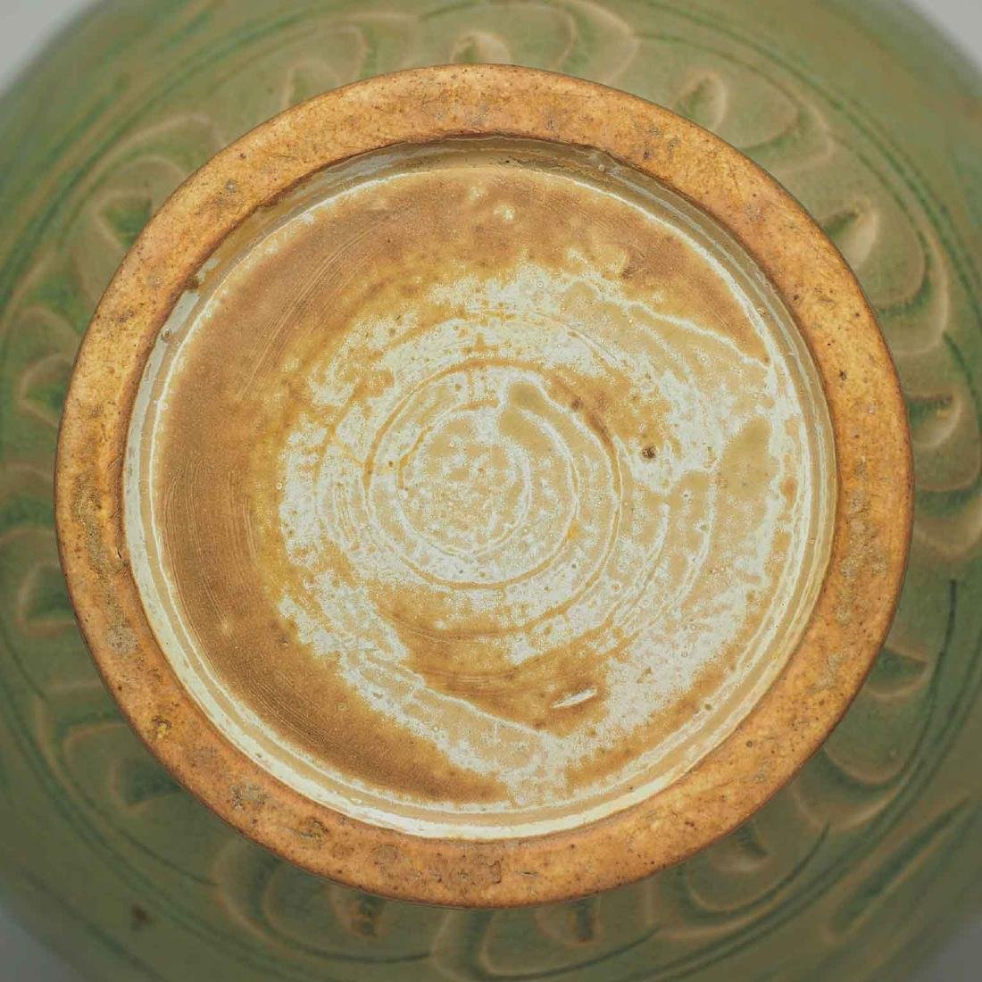 Yaozhou Vase with Carved Peony Scroll, Song Dynasty - 10