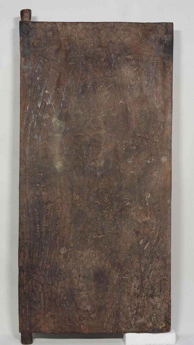 Antique Hand-Carved Solid Wood Window Shutter, Toraja - 4