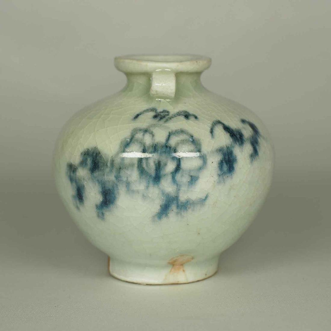 Jarlet with Chrysanthemum Flower, Yuan Dynasty