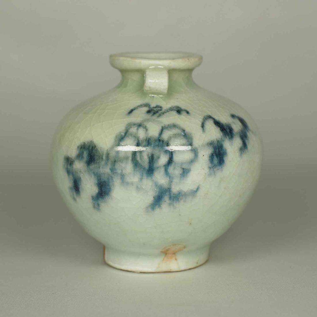 Jarlet with Chrysanthemum Flower, Yuan Dynasty