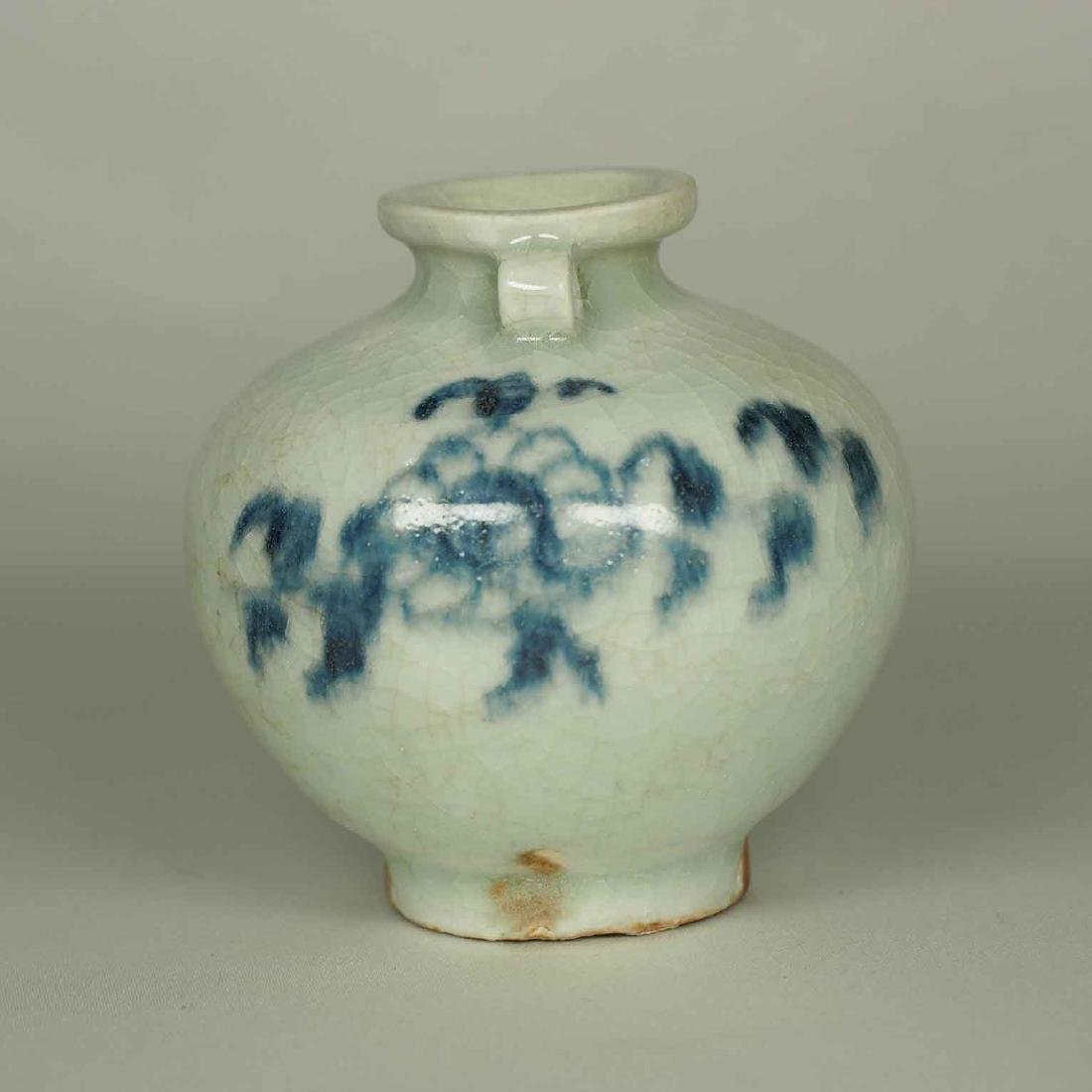 Jarlet with Chrysanthemum Flower, Yuan Dynasty - 2