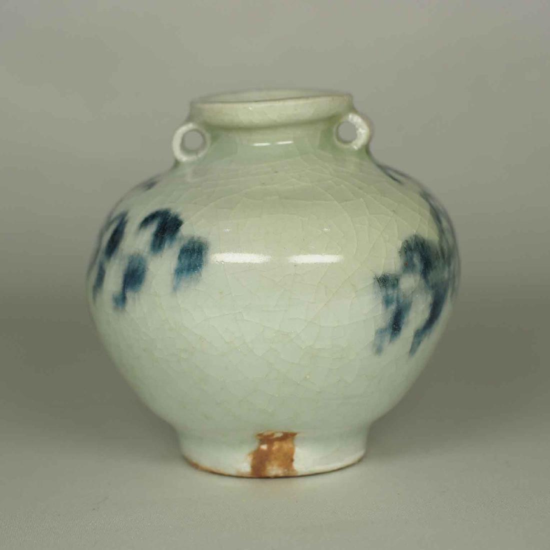 Jarlet with Chrysanthemum Flower, Yuan Dynasty - 3
