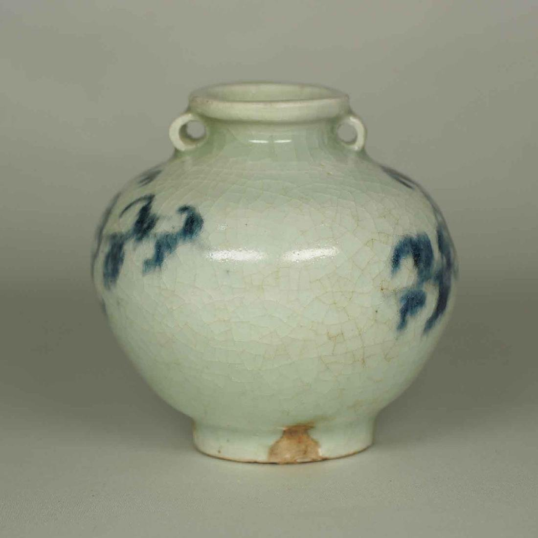 Jarlet with Chrysanthemum Flower, Yuan Dynasty - 4
