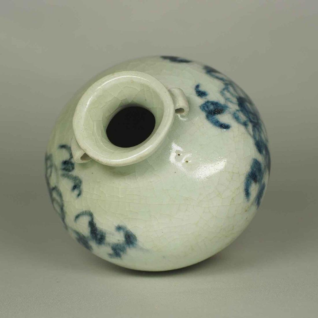 Jarlet with Chrysanthemum Flower, Yuan Dynasty - 5