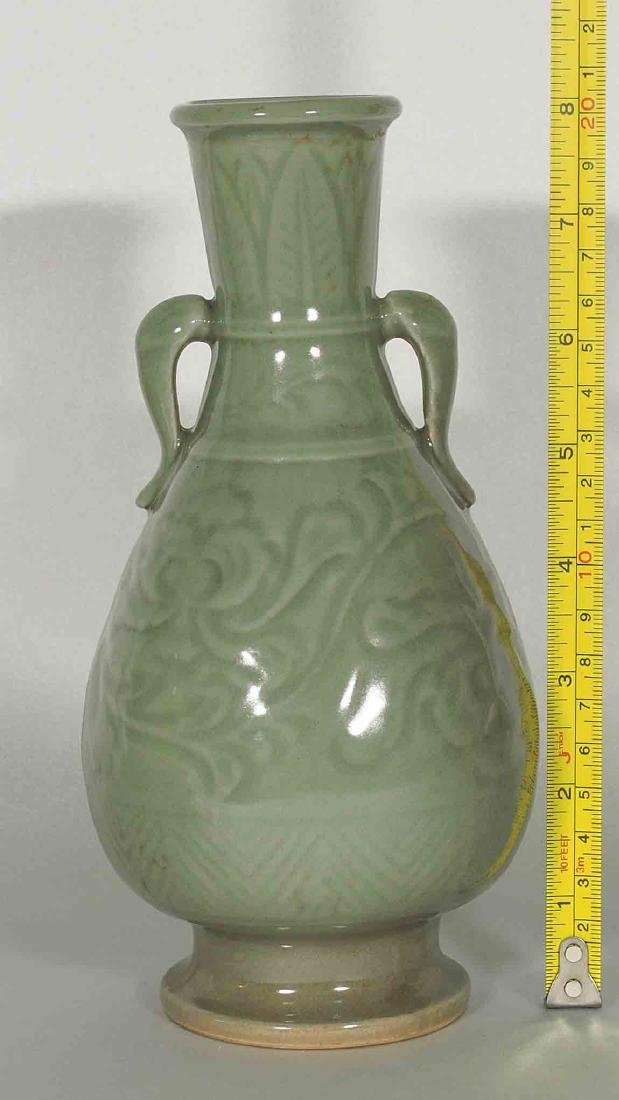 Yaozhou Vase with Carved Peony Scroll, Song Dynasty - 9