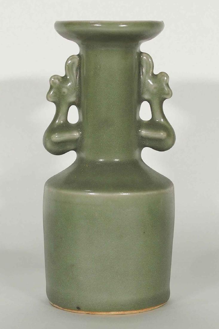 Longquan 'Kinuta' Mallet Vase, Southern Song Dynasty