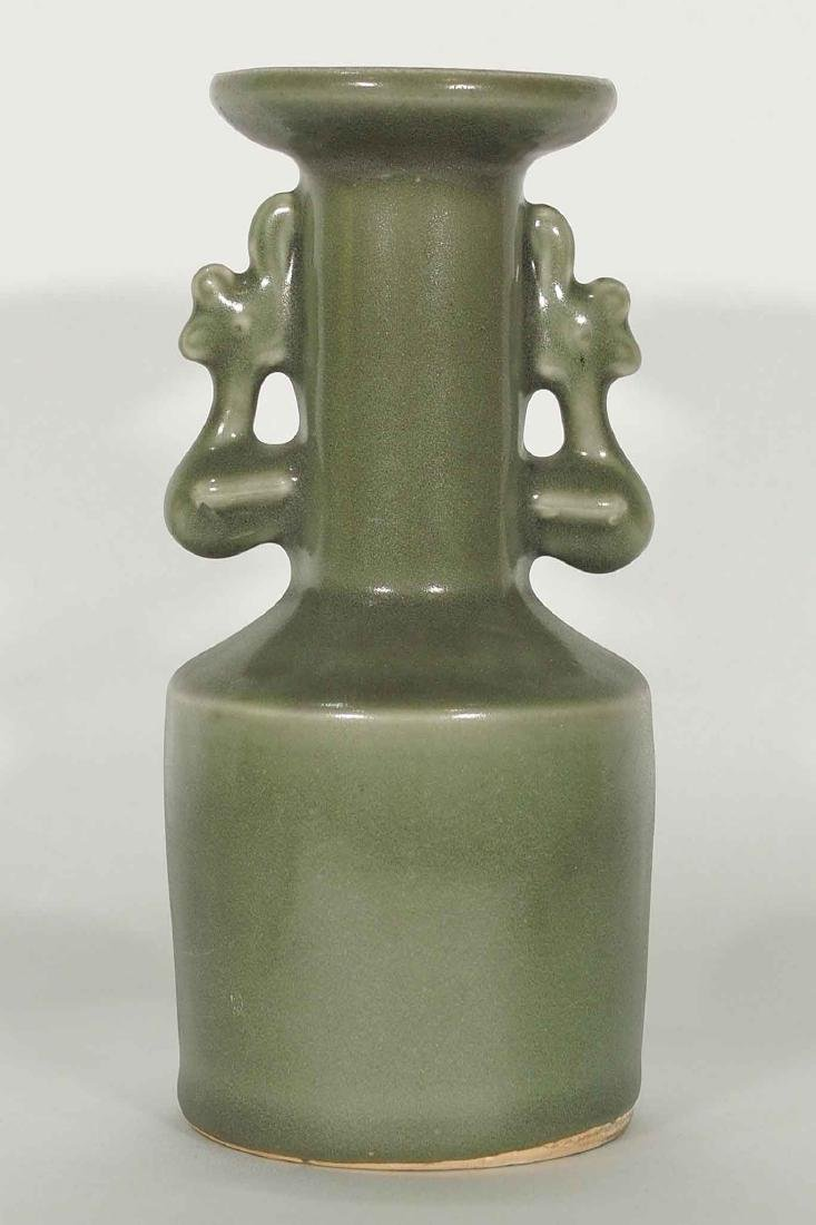 Longquan 'Kinuta' Mallet Vase, Southern Song Dynasty - 2
