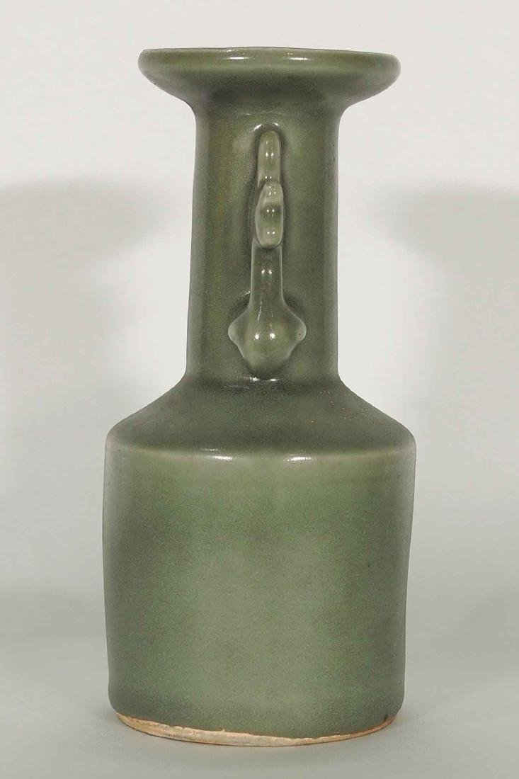 Longquan 'Kinuta' Mallet Vase, Southern Song Dynasty - 3