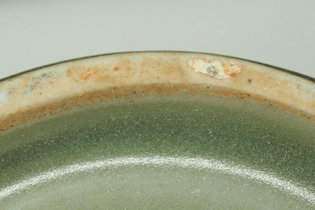 Longquan 'Kinuta' Mallet Vase, Southern Song Dynasty - 9