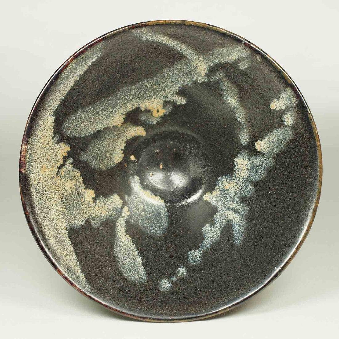Jizhou Conical Bowl with Abstract Design, Song Dynasty