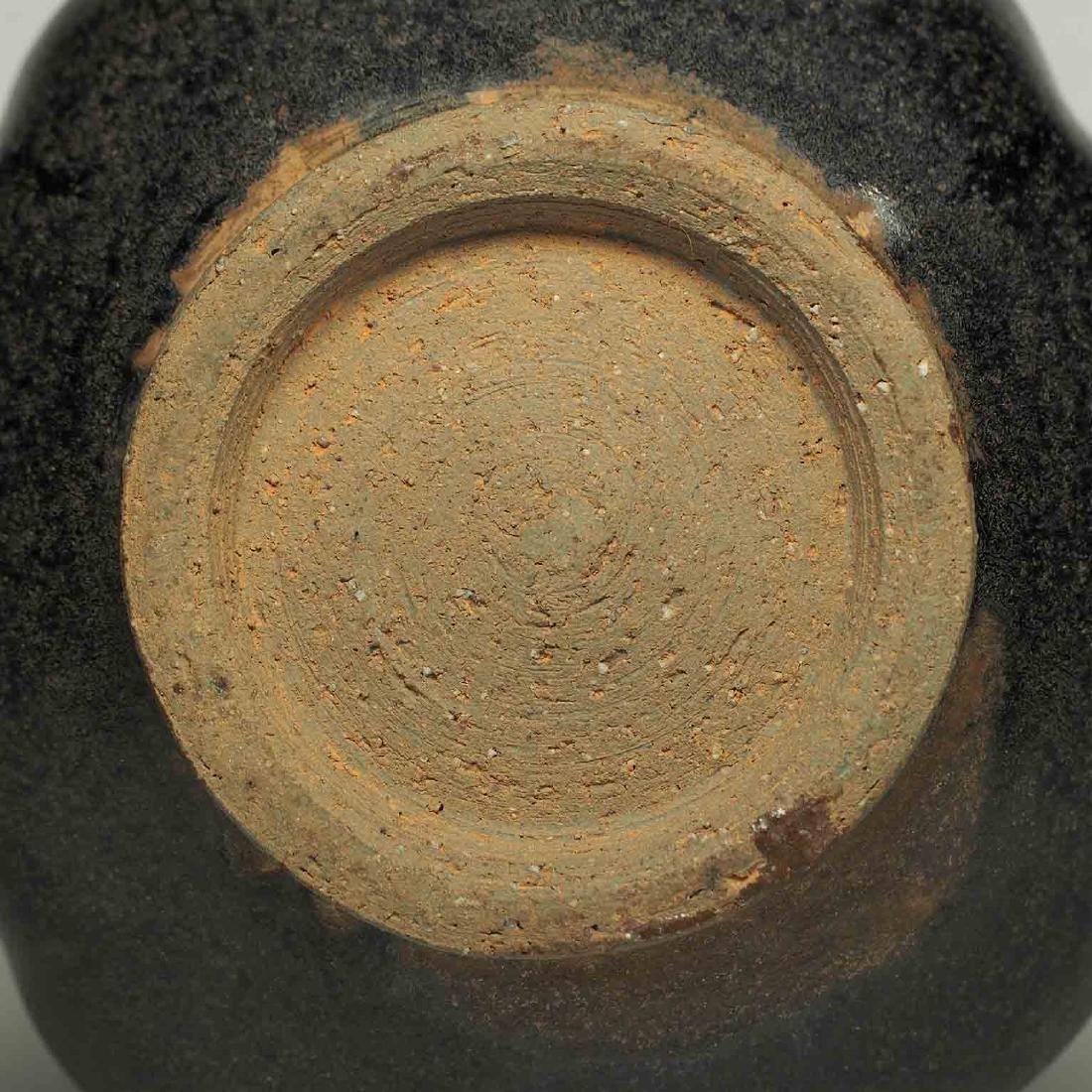 Black glaze ewer, Song Dynasty. Lobbed Ewer - 9