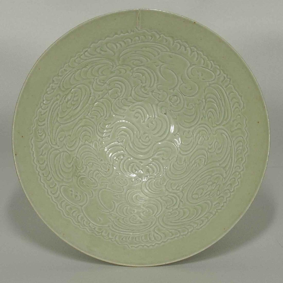 Qingbai Bowl with Incised Motif, Song Dynasty