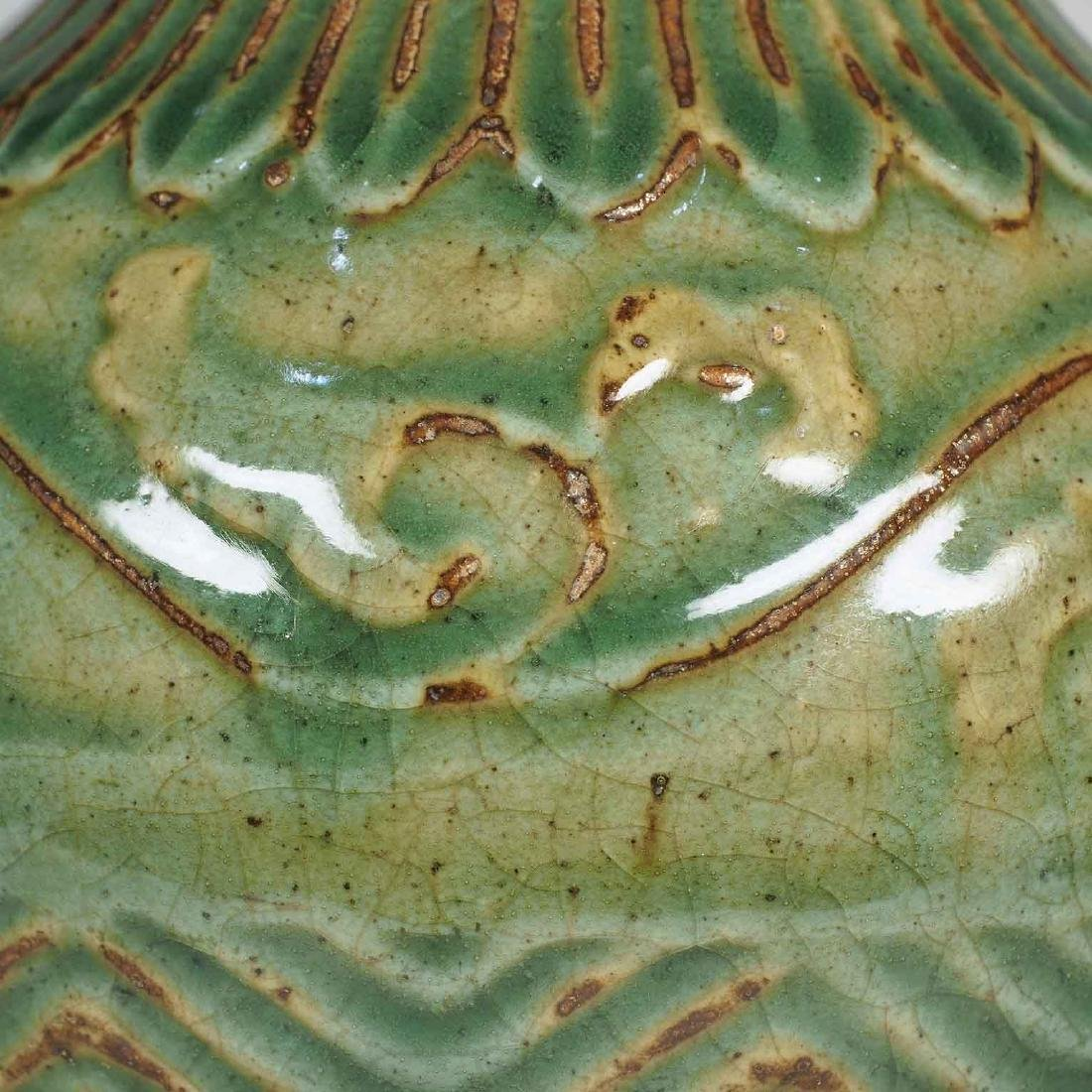 Vase With Leaf Scroll Design, Southern Song Dynasty - 6