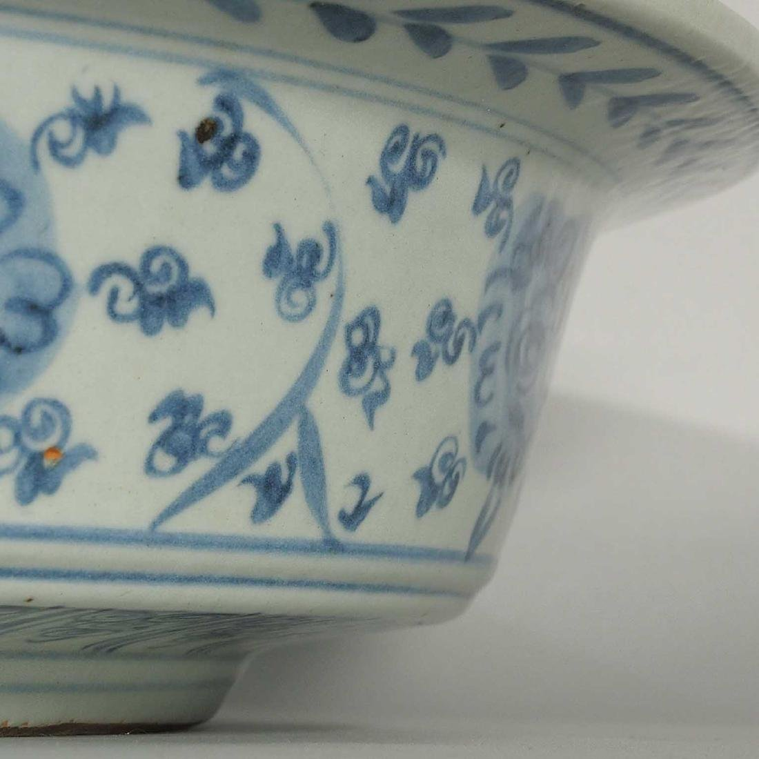 Large Washer with Qilin Design, mid Ming Dynasty - 6