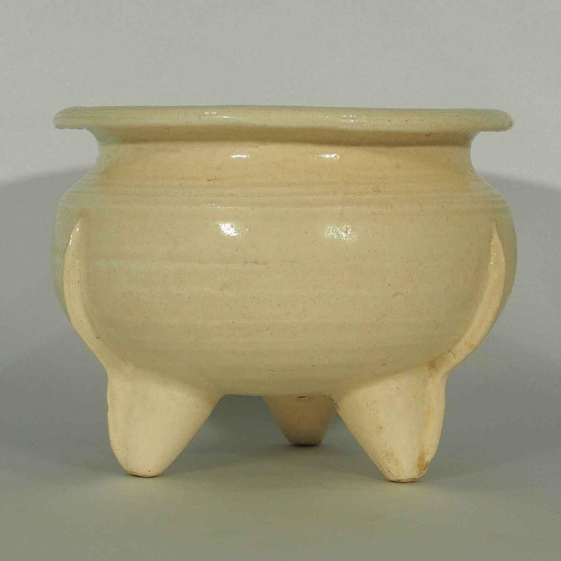 White glaze Tripod Censer, Tang-Northern Song Dynasty