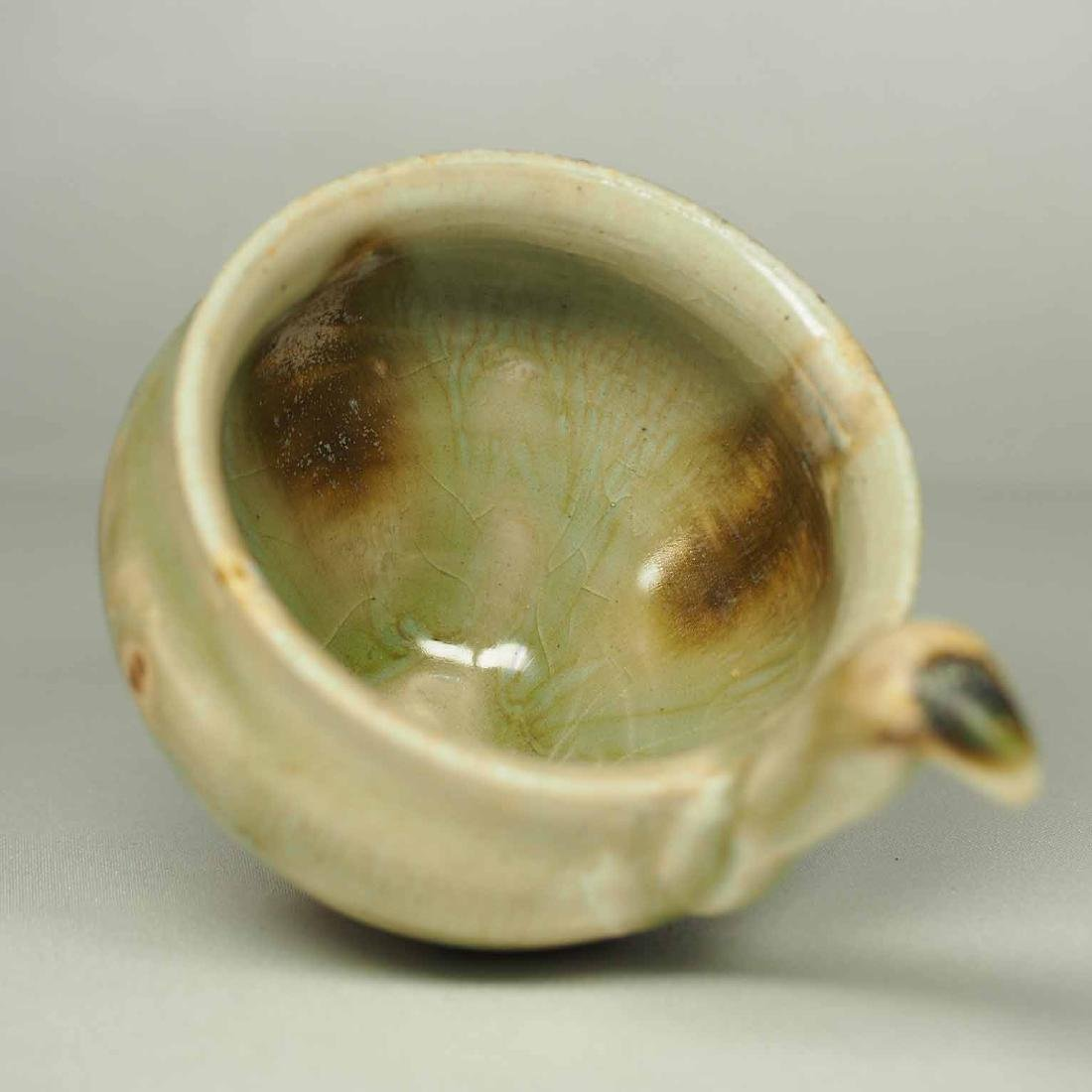 Spoon and Saucer with Incised Lotus, Eastern Jin - 9