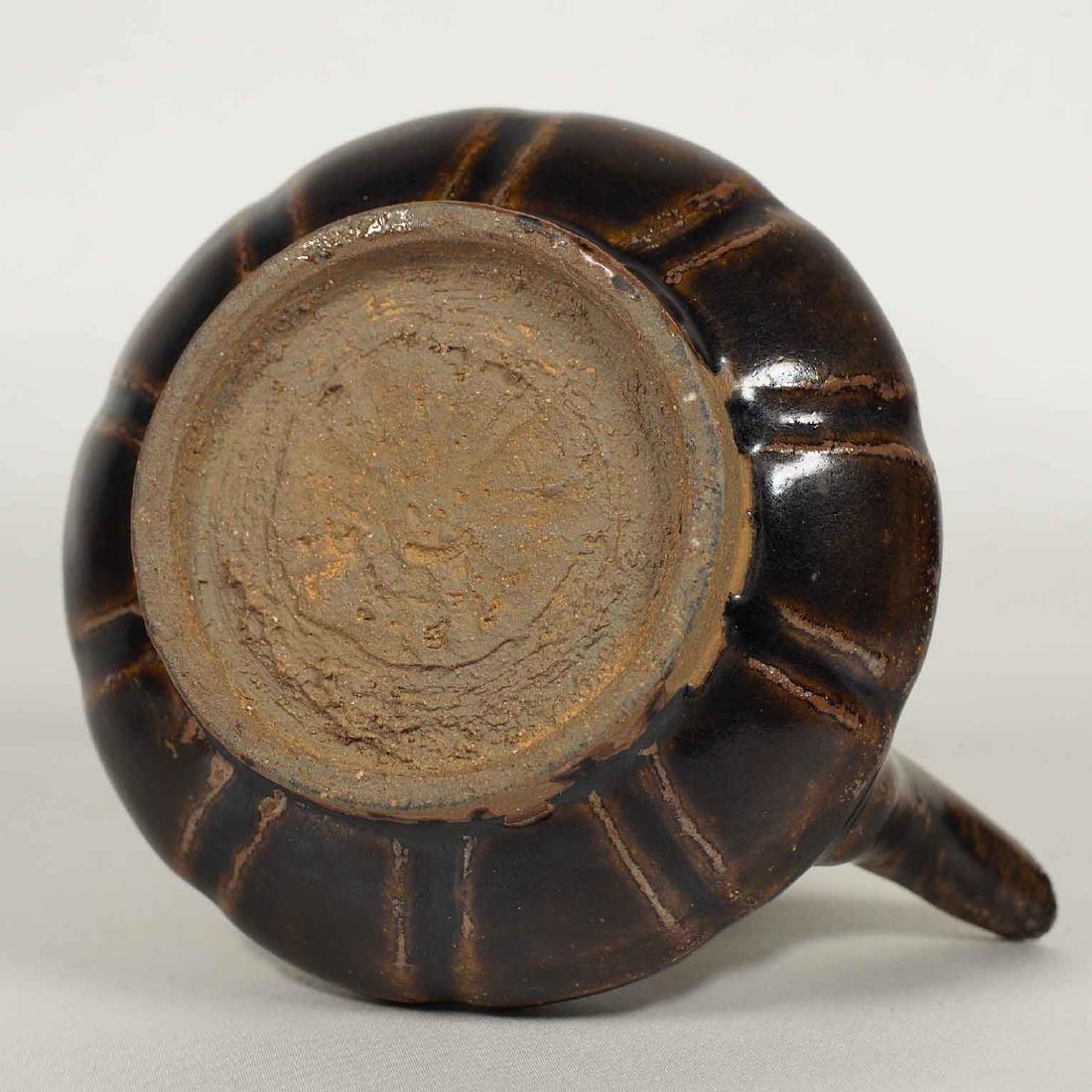 Black glazed Arabic Style Ewer with Lid, Song Dynasty - 10