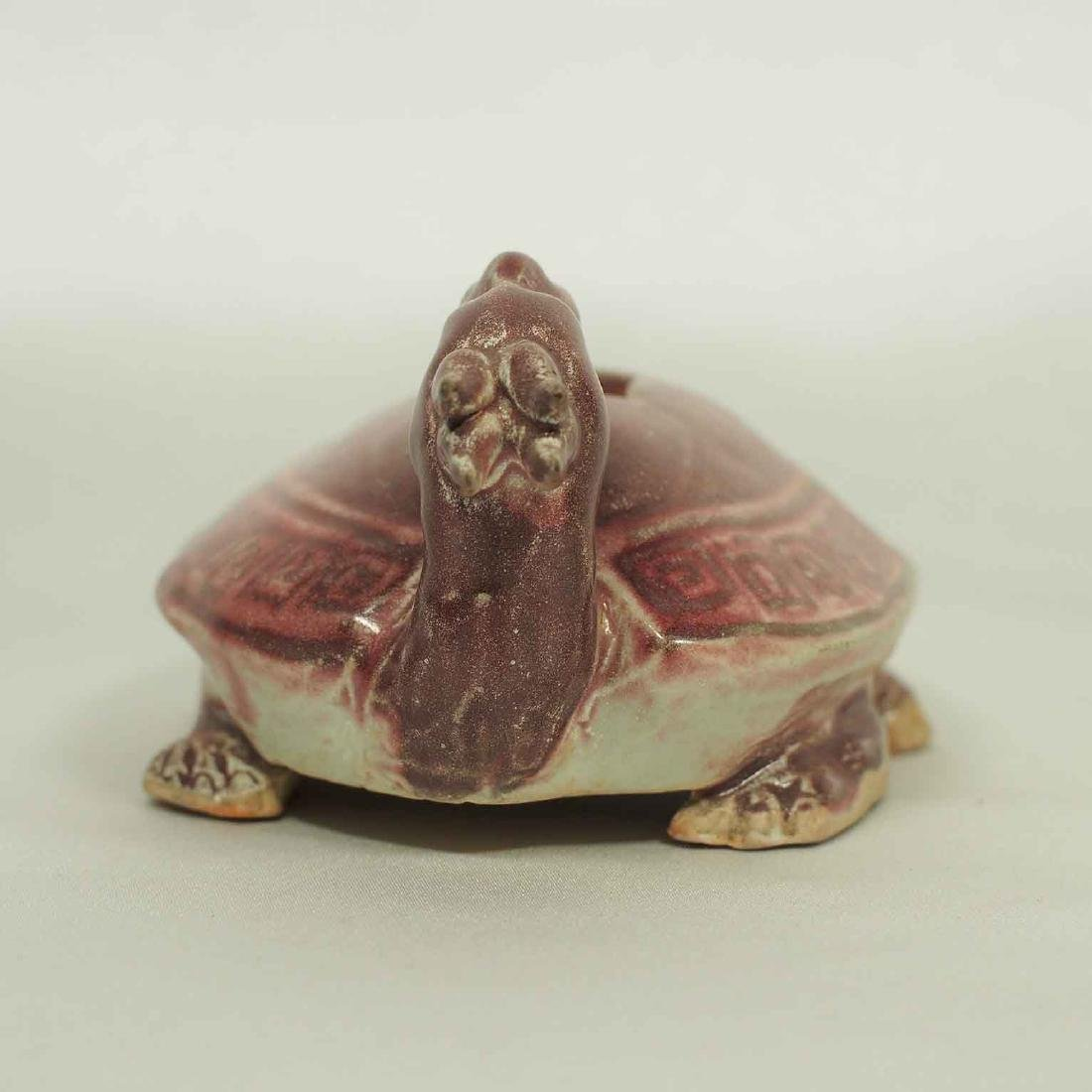 Scholar's Dragon-Turtle Form Waterpot, Ming Dynasty - 4