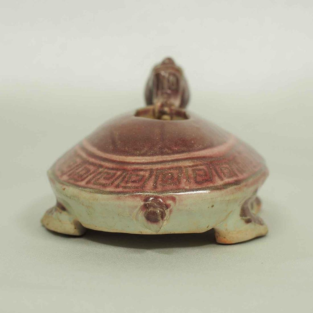 Scholar's Dragon-Turtle Form Waterpot, Ming Dynasty - 5