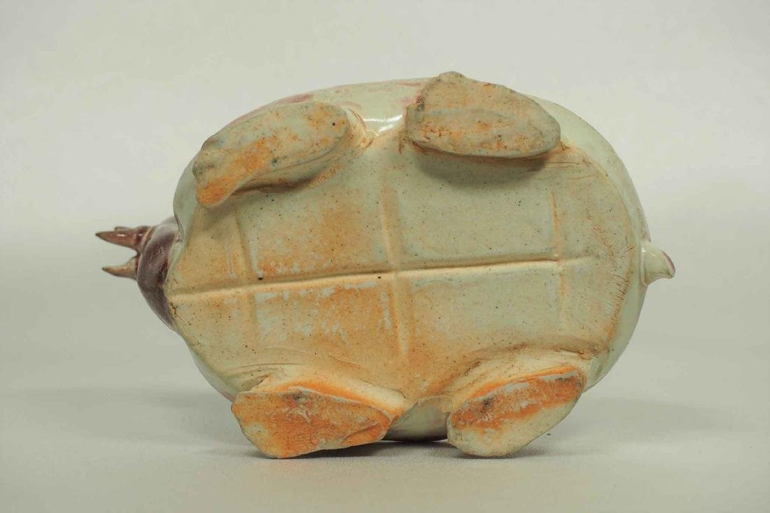 Scholar's Dragon-Turtle Form Waterpot, Ming Dynasty - 7