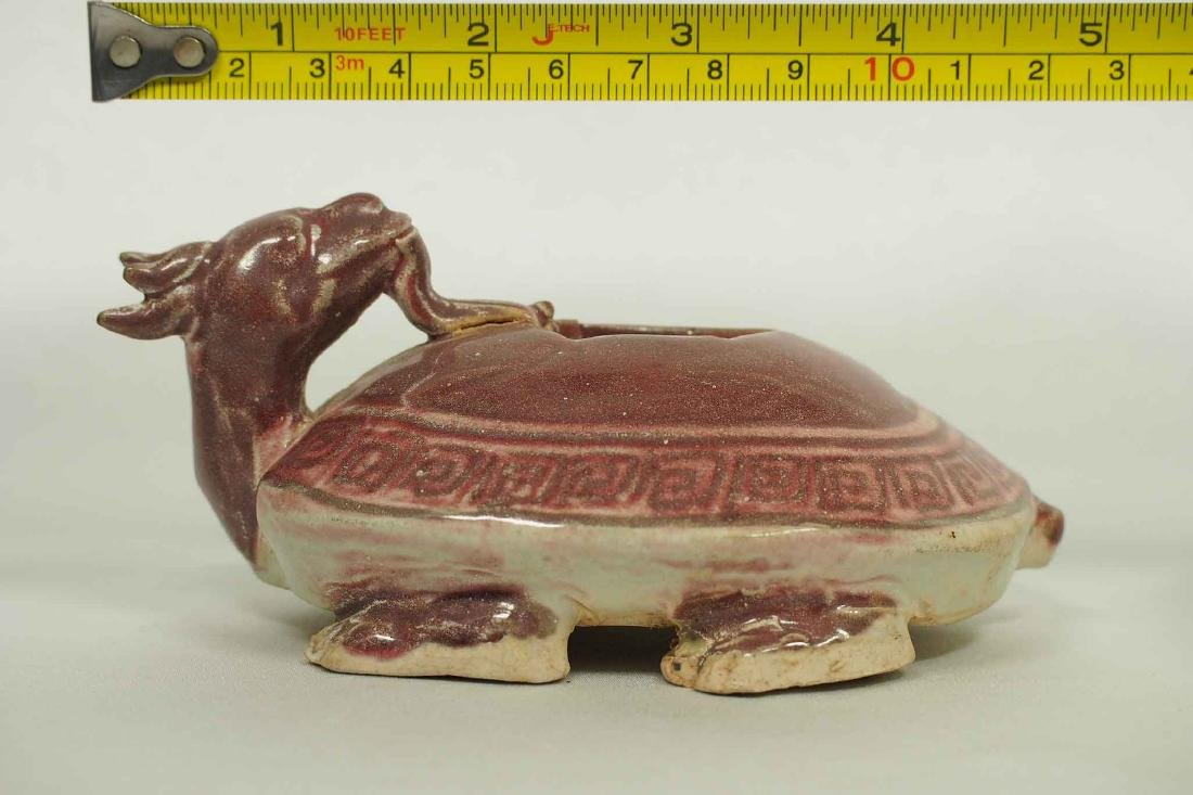 Scholar's Dragon-Turtle Form Waterpot, Ming Dynasty - 8
