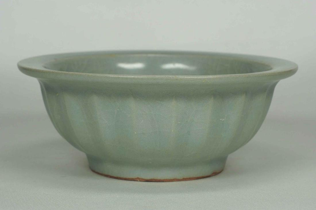 Longquan Bowl with Twin Fish and Lotus Design, Southern - 3