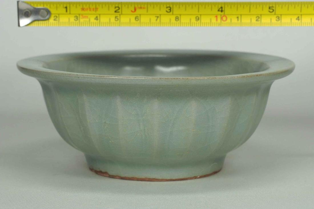 Longquan Bowl with Twin Fish and Lotus Design, Southern - 8