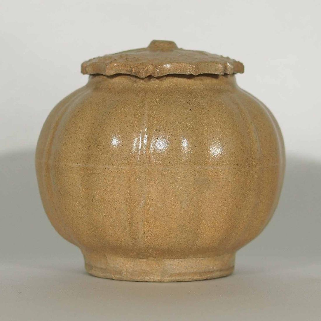 Lidded Lobed Jar, Southern Song Dynasty