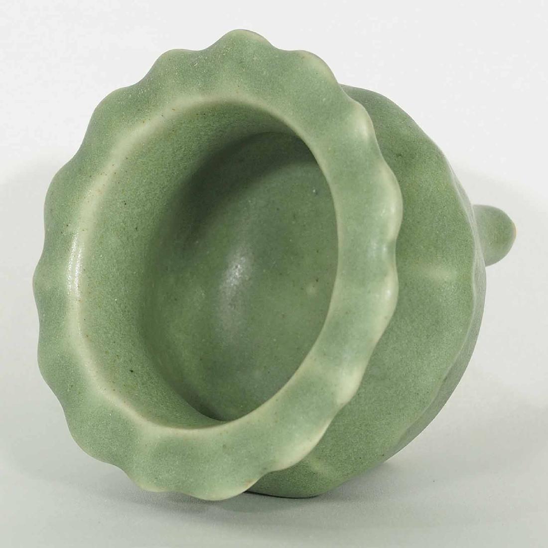 Longquan Foliated-Rim Tripod Censer, mid Ming Dynasty - 3