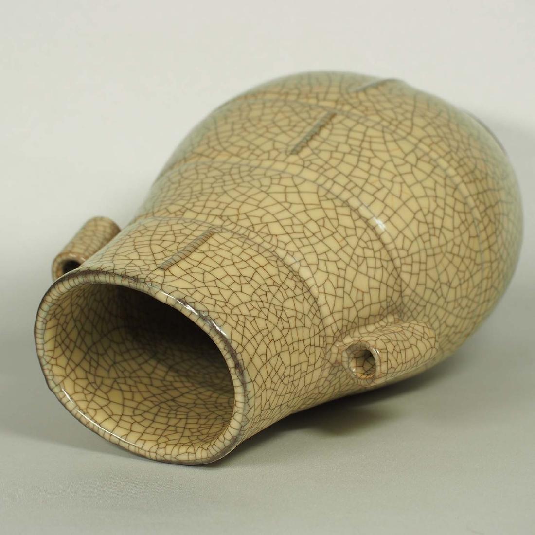 Ge Hu-Form Vase, early Ming Dynasty - 4