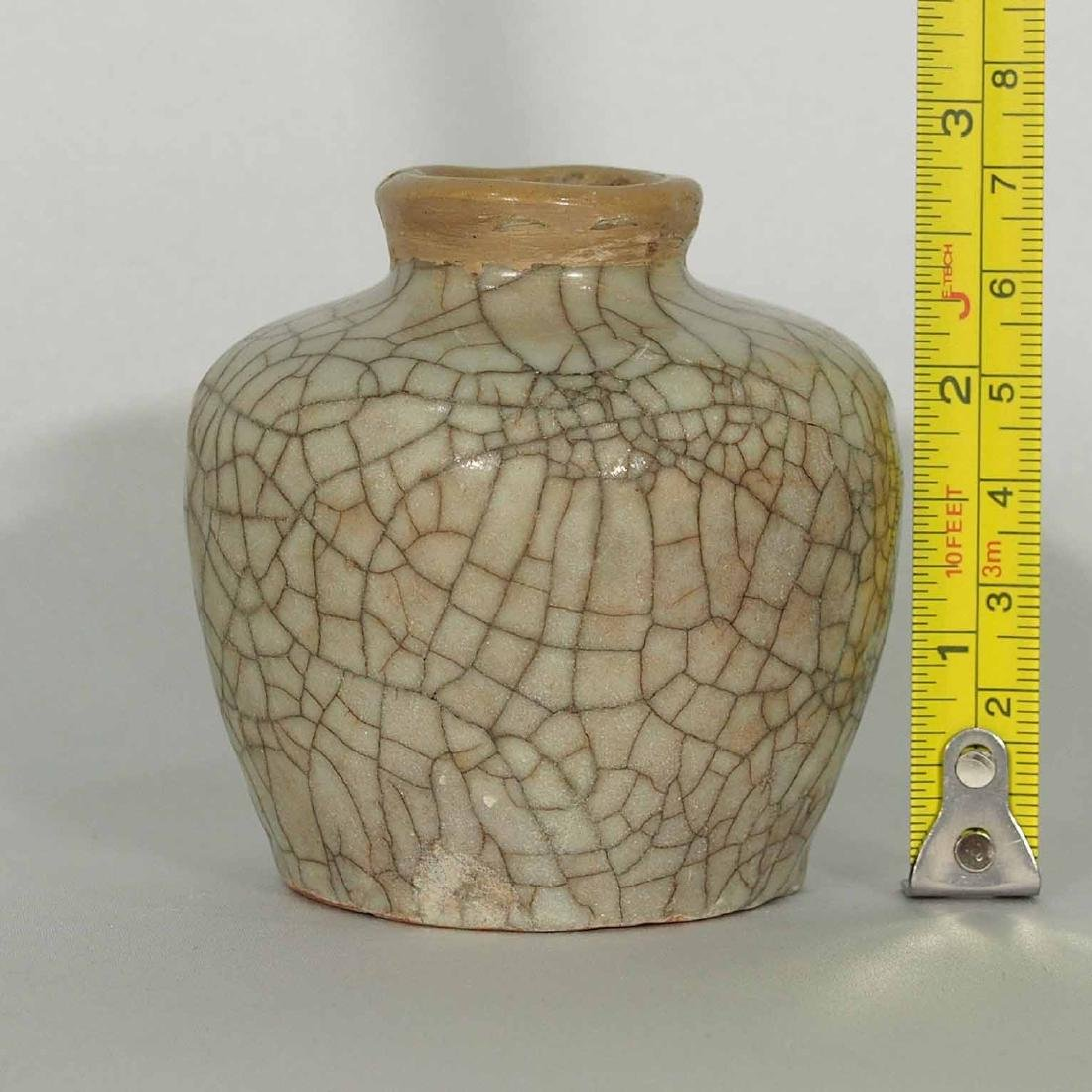 Guan-Style Water Pot, Ming Dynasty - 6