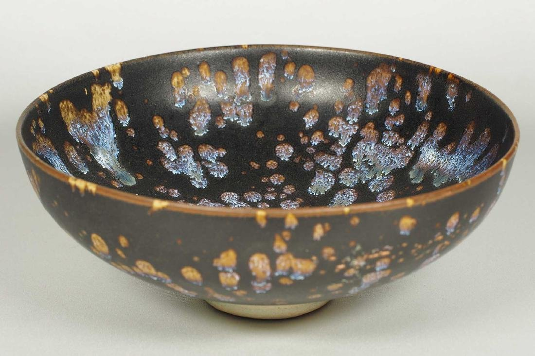 Jizhou Bowl with Blue Speckle, Song Dynasty