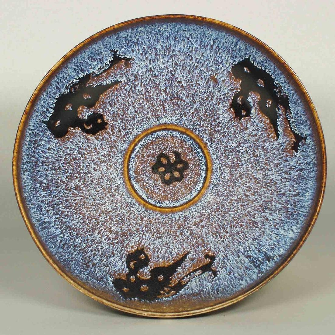Jizhou Bowl with Paper-Cut Design, Song Dynasty