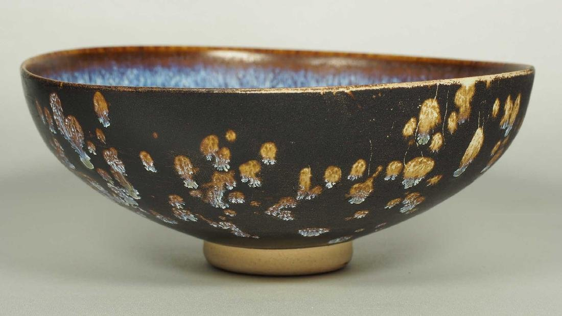 Jizhou Bowl with Paper-Cut Design, Song Dynasty - 3
