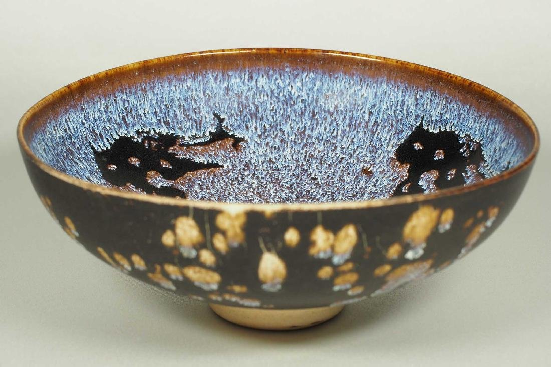 Jizhou Bowl with Paper-Cut Design, Song Dynasty - 4