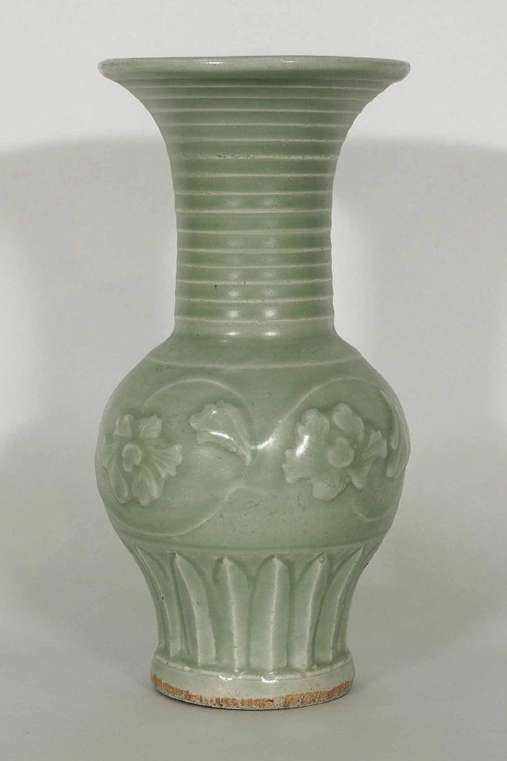 Longquan Phoenix-Tail Vase, Southern Song Dynasty