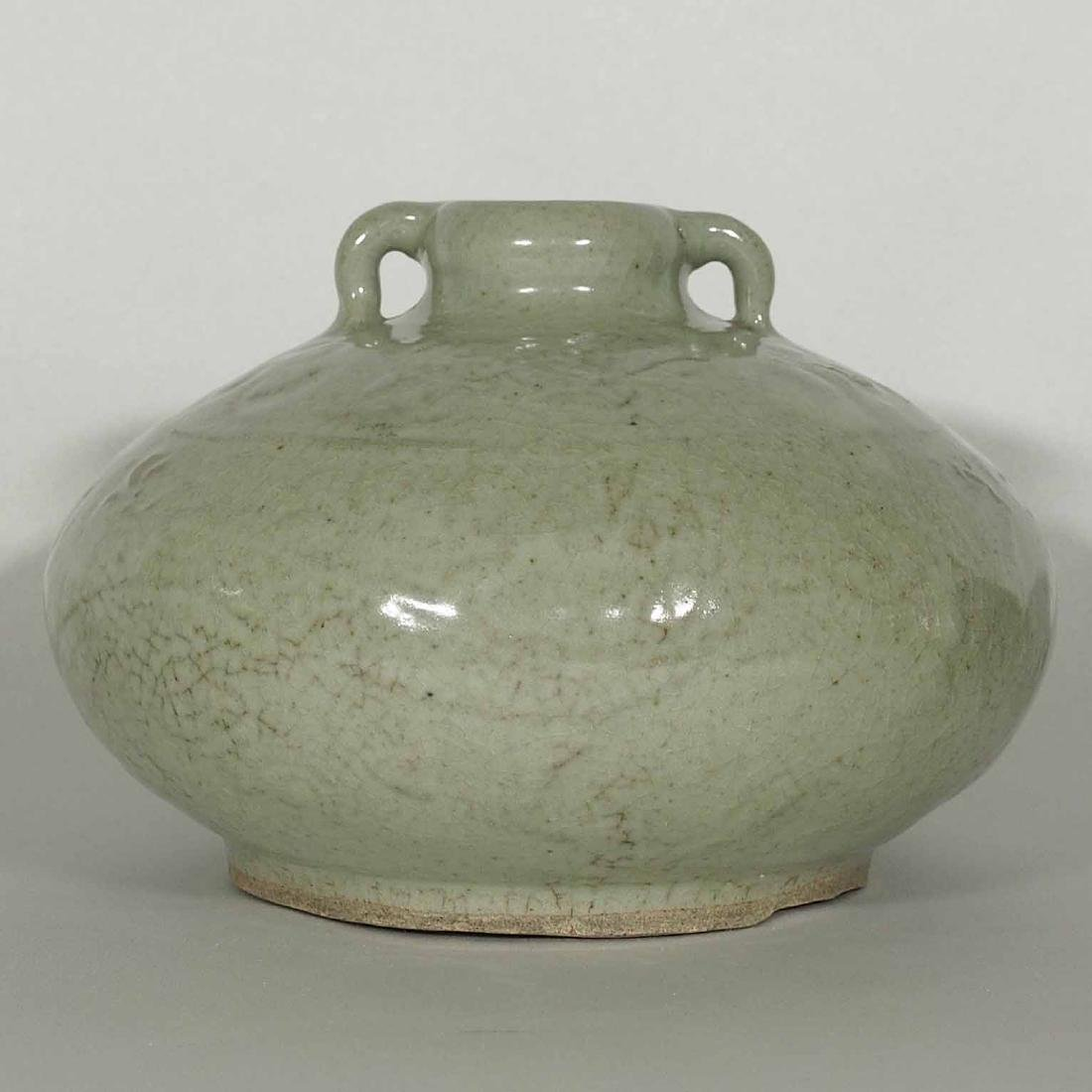 Qingbai Large Jarlet with Carved Dragon, Song Dynasty - 2