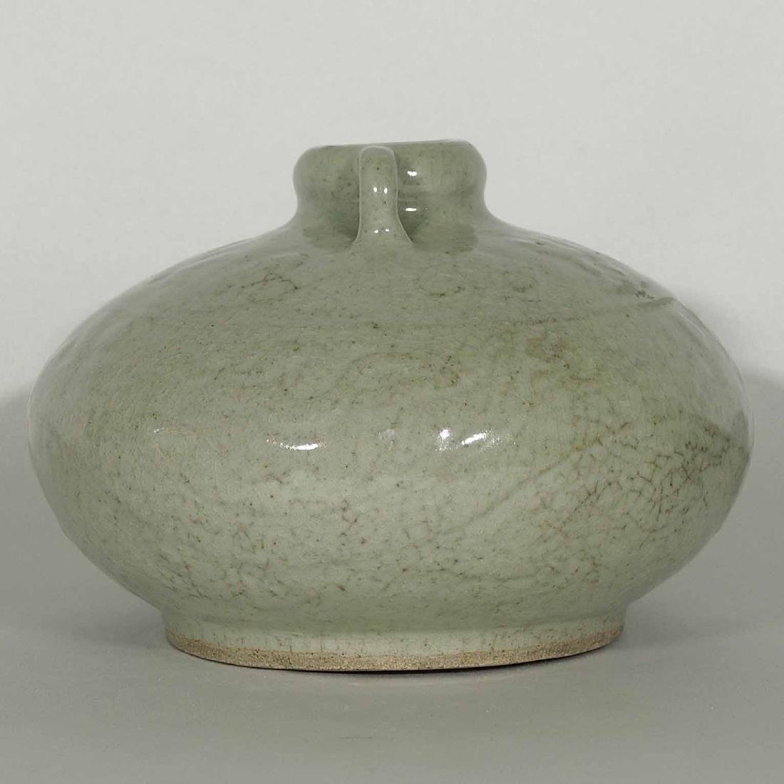 Qingbai Large Jarlet with Carved Dragon, Song Dynasty - 4
