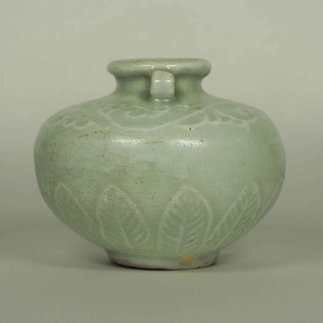Longquan Crackled Jarlet, Yuan Dynasty - 2