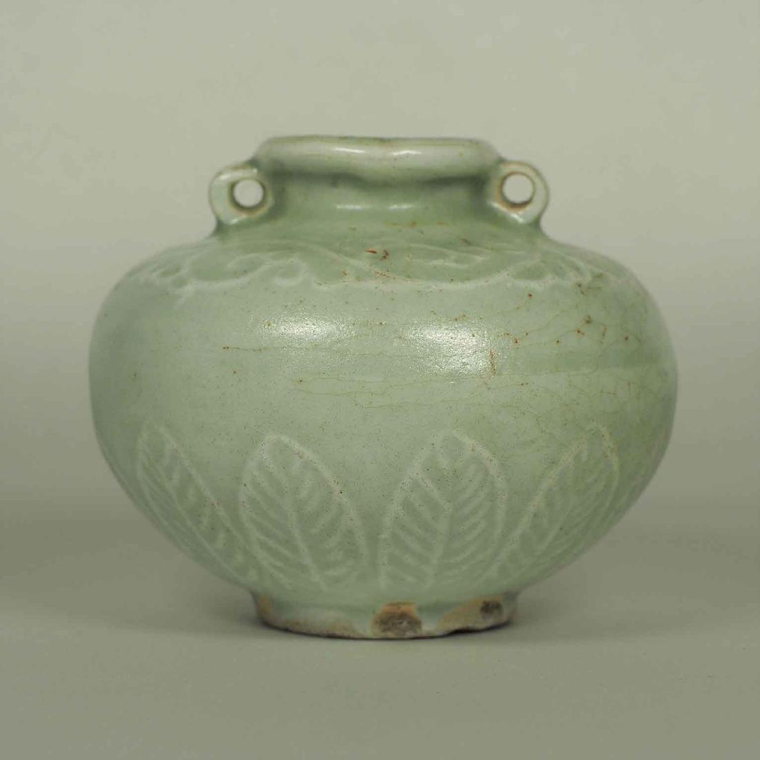 Longquan Crackled Jarlet, Yuan Dynasty - 3