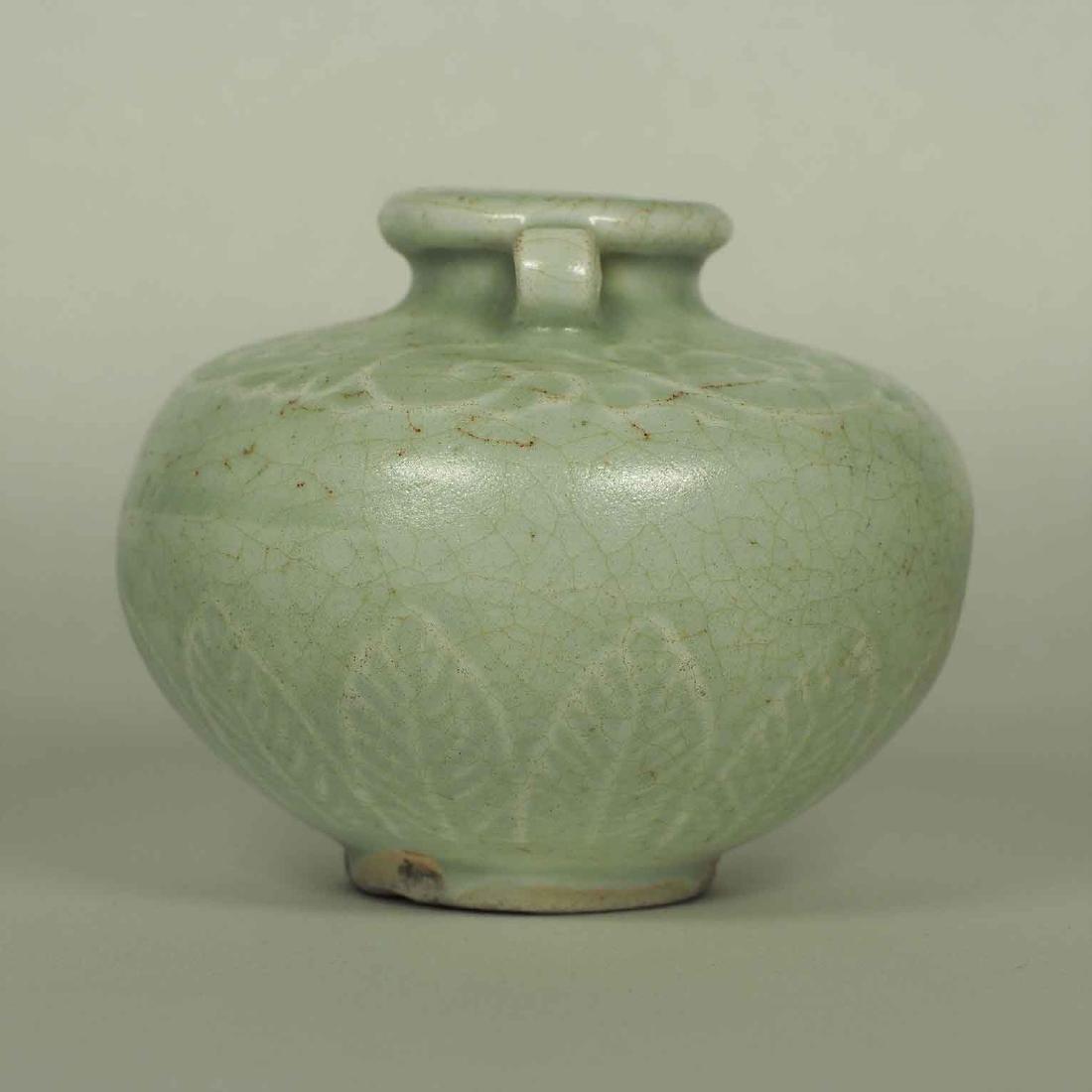 Longquan Crackled Jarlet, Yuan Dynasty - 4