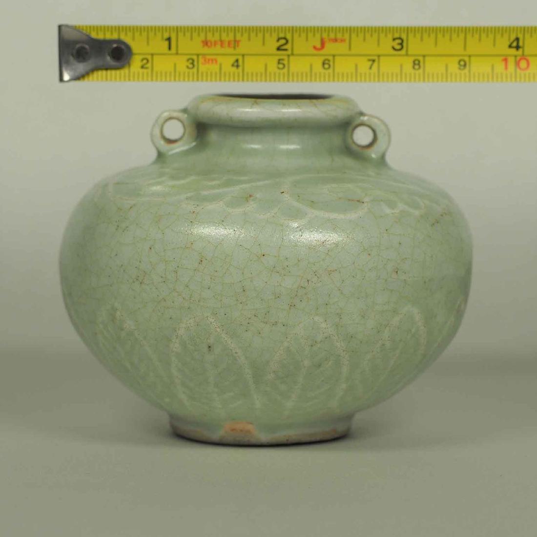 Longquan Crackled Jarlet, Yuan Dynasty - 8