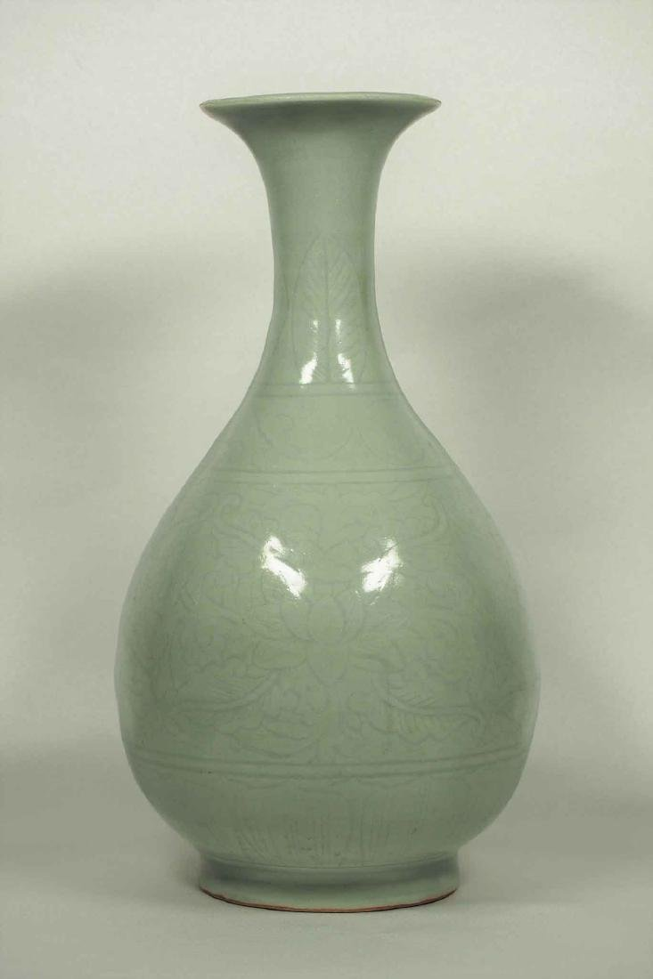 Longquan Yuhuchun Vase, Yuan-early Ming Dynasty