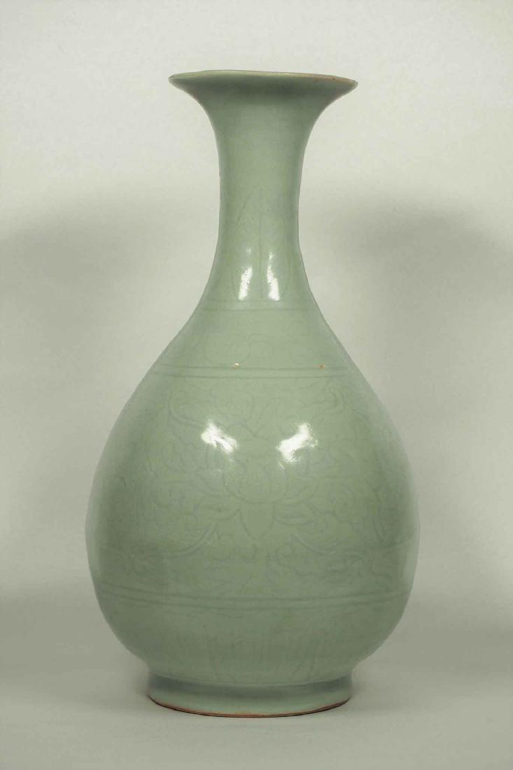 Longquan Yuhuchun Vase, Yuan-early Ming Dynasty - 2