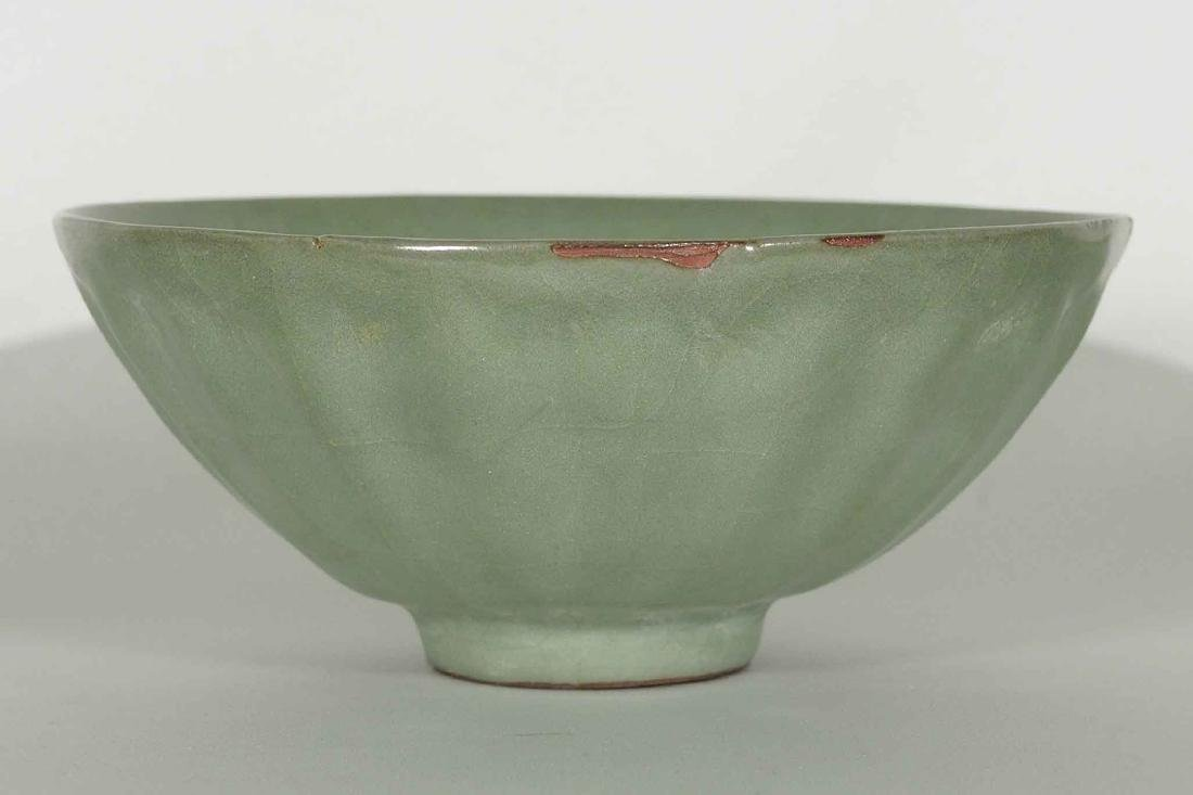 Longquan large Lotus-lobed Bowl, Song Dynasty