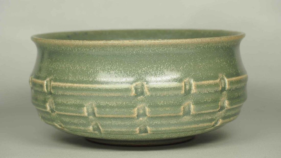 Longquan Washer with Molded Trigram, Southern Song